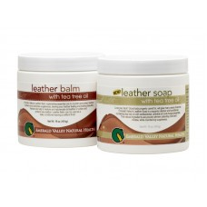 Emerald Valley Leather Soap & Leather Balm