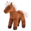 """Mr. Brown"" Plush Horse"