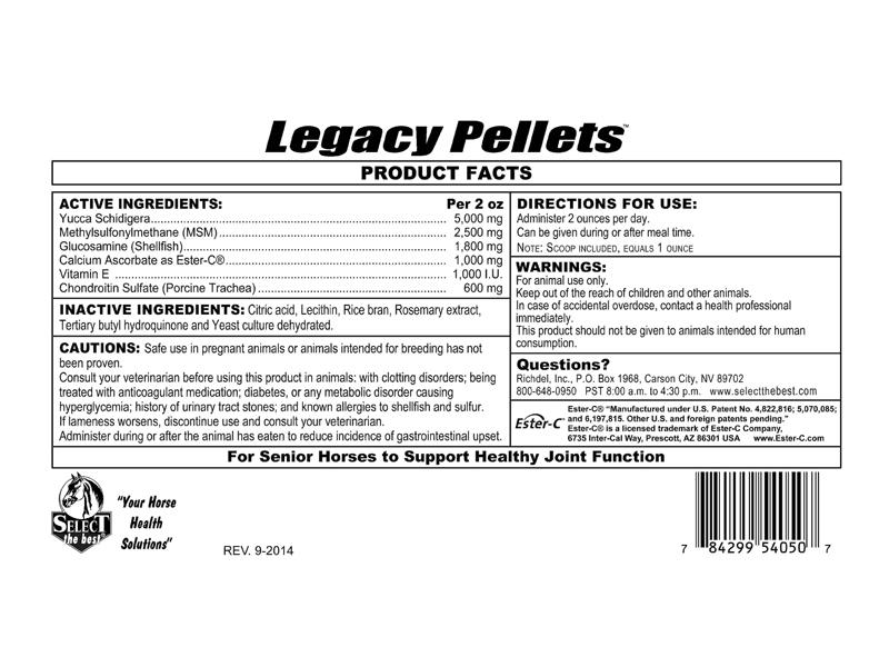 Select Legacy™ Pellets
